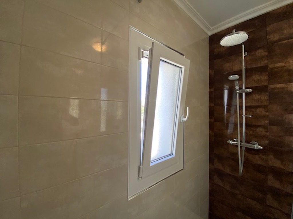 PVC Bathroom window