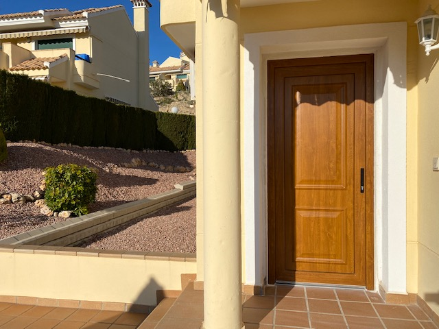 PVC Entrance door Campoamor